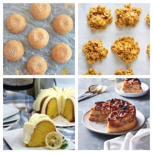 20 Instant Pot Baked Desserts - These 20 Instant Pot Dessert Recipes will the be the star of any gathering. You'll want to lick the plate and have another helping they are so good. #ACultivatedNest