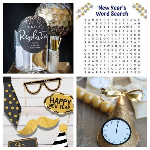 20 Brilliant New Year's Eve Party Free Printables- These New Year's Eve free printables will get you all set for fun and help you celebrate in style as you get ready for the new year! | #NewYearsEve #NewYear #freePrintables #printables #ACultivatedNest