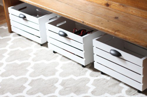 10 Genius Shoe Storage DIYs- Get rid of the shoe chaos and use these genius DIY shoe storage solutions instead! They're the perfect way to get your shoes organized! | #organization #organizingTips #shoeOrganization #DIY #ACultivatedNest