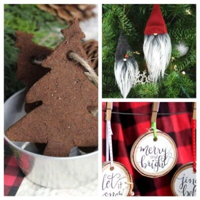 20 Beautiful DIY Christmas Ornaments