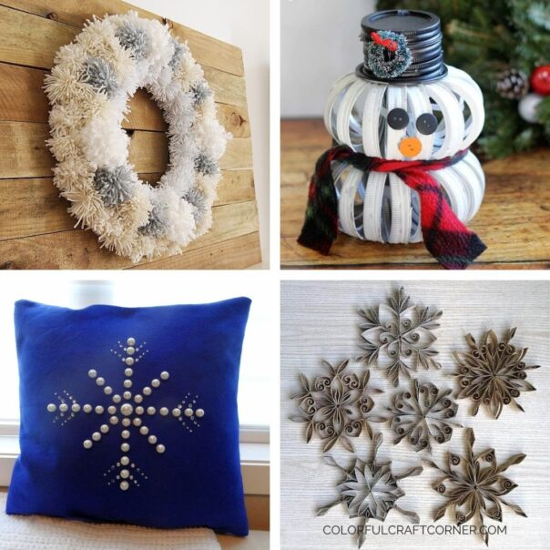 20 Winter DIY Projects for Decorating After Christmas- It can be tricky to decorate your home for winter after Christmas, but with these 20 DIY winter décor projects your home will look lovely! | #winterDecor #winterDecorating #diyProjects #DIY #ACultivatedNest