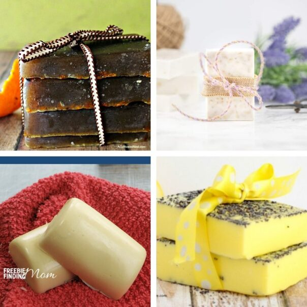 20 Heavenly Homemade Soap Crafts- If you want an all-natural homemade soap for your own use, or if you'd like to selling DIY soap, then you have to check out these handmade soap recipes! | #homemadeSoap #handmadeSoap #diySoap #soap #ACultivatedNest