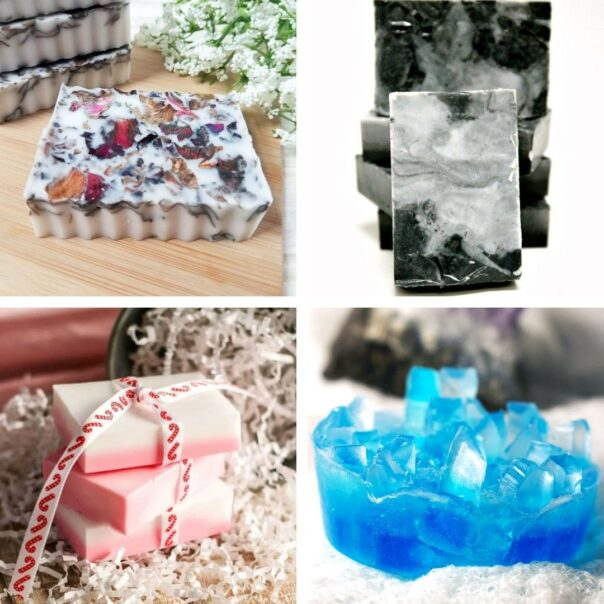 20 Heavenly DIY Soap Projects- If you want an all-natural homemade soap for your own use, or if you'd like to selling DIY soap, then you have to check out these handmade soap recipes! | #homemadeSoap #handmadeSoap #diySoap #soap #ACultivatedNest