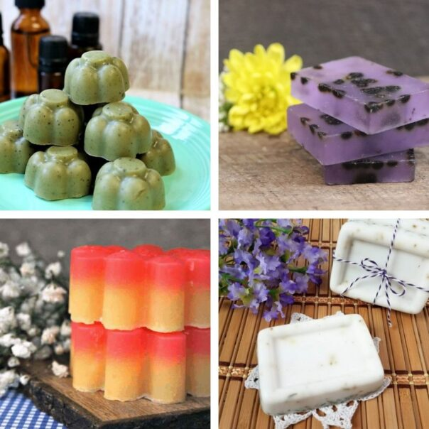 20 Heavenly Homemade Soap Recipes- If you want an all-natural homemade soap for your own use, or if you'd like to selling DIY soap, then you have to check out these handmade soap recipes! | #homemadeSoap #handmadeSoap #diySoap #soap #ACultivatedNest