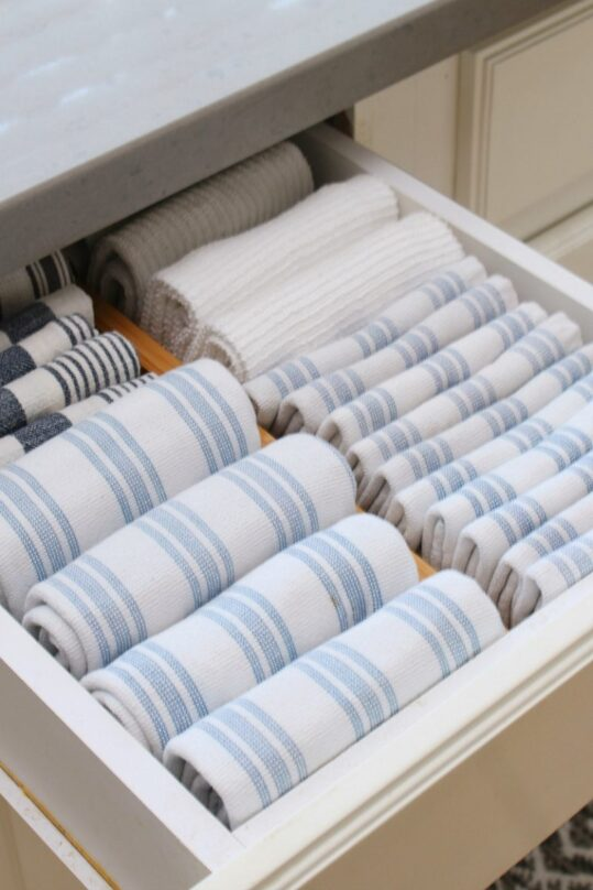 12 Clever Kitchen Drawer Organization Tips- If you want to be able to find things fast in your kitchen, you need to check out these space saving kitchen drawer organization ideas! | #organizingTips #homeOrganization #kitchenOrganization #organizing #ACultivatedNest