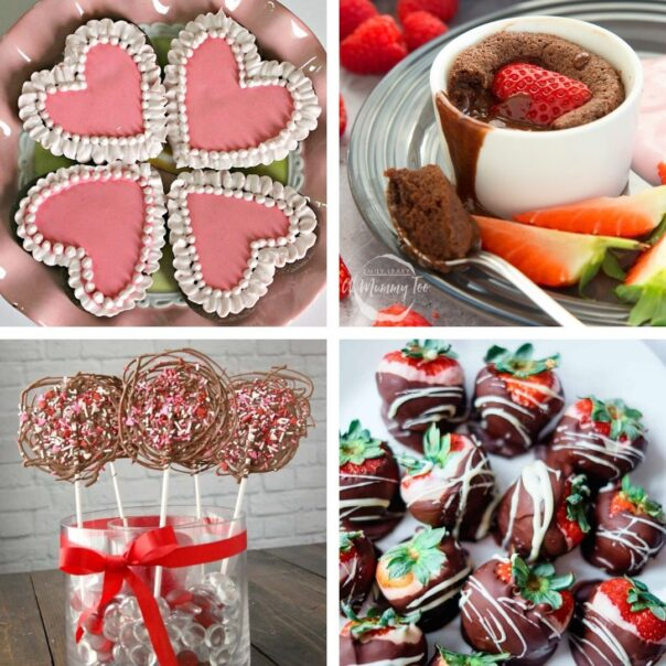 24 Desserts for Valentine's Day- Give your special someone something sweet to eat this year, with these delicious Valentine's Day dessert recipes! | #ValentinesDay #Valentines #dessertRecipes #desserts #ACultivatedNest