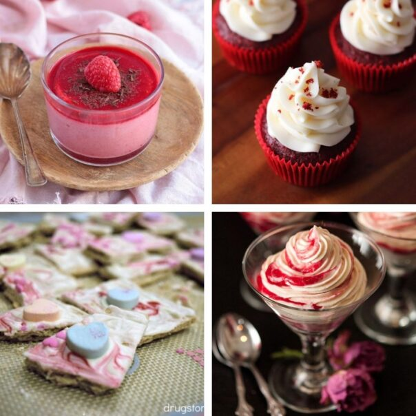24 Recipes for Valentine's Day- Give your special someone something sweet to eat this year, with these delicious Valentine's Day dessert recipes! | #ValentinesDay #Valentines #dessertRecipes #desserts #ACultivatedNest