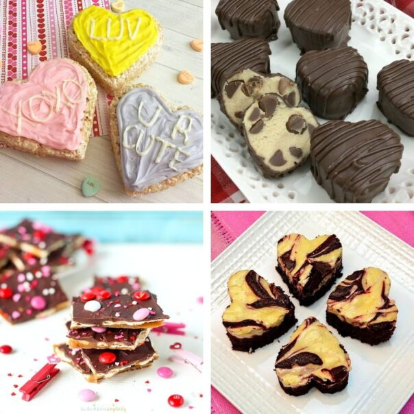 24 Valentine's Day Treat Recipes- Give your special someone something sweet to eat this year, with these delicious Valentine's Day dessert recipes! | #ValentinesDay #Valentines #dessertRecipes #desserts #ACultivatedNest