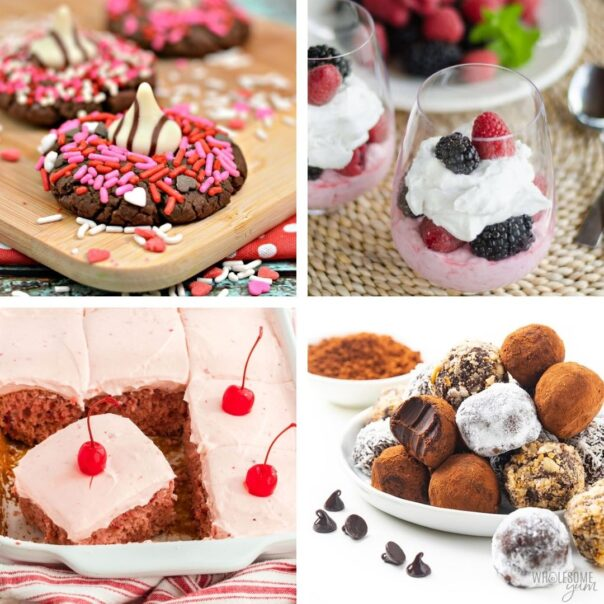 24 Valentine's Day Recipes- Give your special someone something sweet to eat this year, with these delicious Valentine's Day dessert recipes! | #ValentinesDay #Valentines #dessertRecipes #desserts #ACultivatedNest