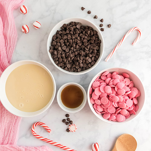 Delicious Homemade Peppermint Fudge Recipe- For a special treat this holiday season, you have to make this delicious homemade peppermint fudge! It also makes a great DIY food gift! | homemade food gift, Christmas dessert ideas, homemade fudge recipe, #fudge #dessert #dessertRecipes #peppermintRecipes #ACultivatedNest