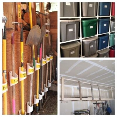 10 DIY Basement Organization Ideas