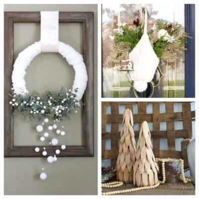 20 DIY Winter Decor Projects to Brighten Your Home