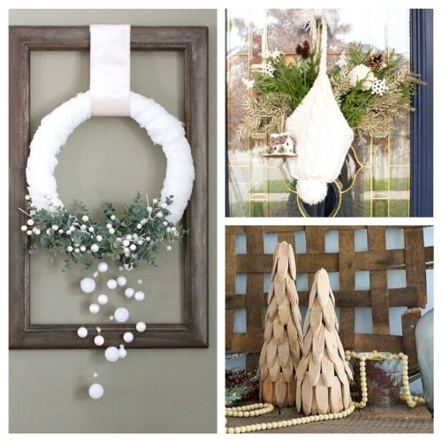 20 DIY Winter Décor Projects to Brighten Your Home- It can be tricky to decorate your home for winter after Christmas, but with these 20 DIY winter décor projects your home will look lovely! | #winterDecor #winterDecorating #diyProjects #DIY #ACultivatedNest