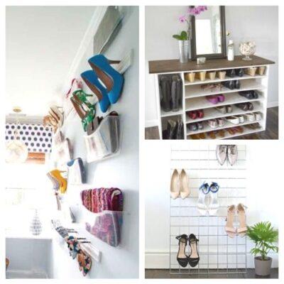 10 Genius DIY Shoe Storage Solutions