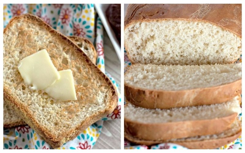 Homemade English Muffin Bread Recipe