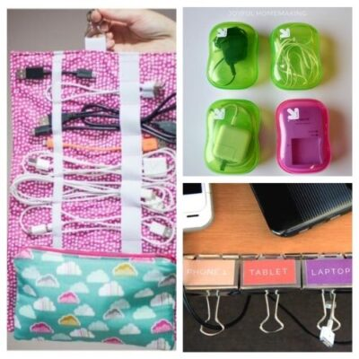 10 Clever Ways to Organize Cords and Wires