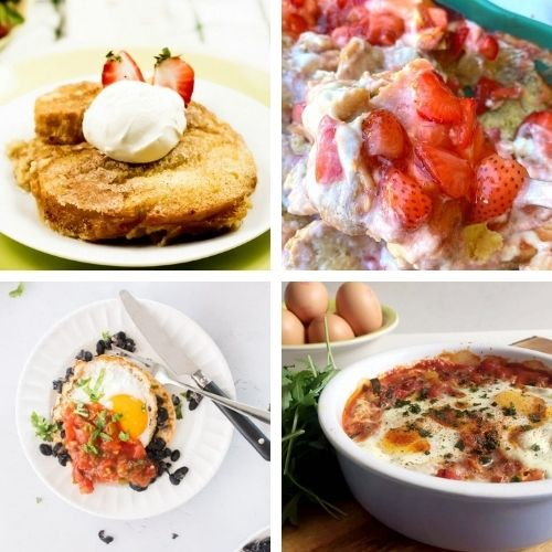 28 Delicious Homemade Brunches- If you want something tasty for your next lazy weekend morning, you have to try these delicious weekend breakfast recipes! | #breakfast #breakfastRecipes #brunch #brunchRecipes #ACultivatedNest