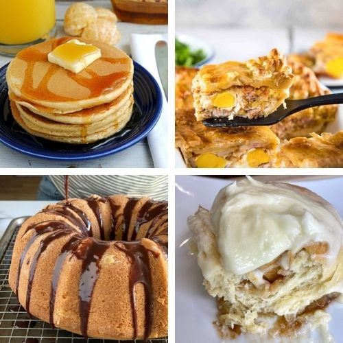 28 Delicious Weekend Brunch Recipes- If you want something tasty for your next lazy weekend morning, you have to try these delicious weekend breakfast recipes! | #breakfast #breakfastRecipes #brunch #brunchRecipes #ACultivatedNest