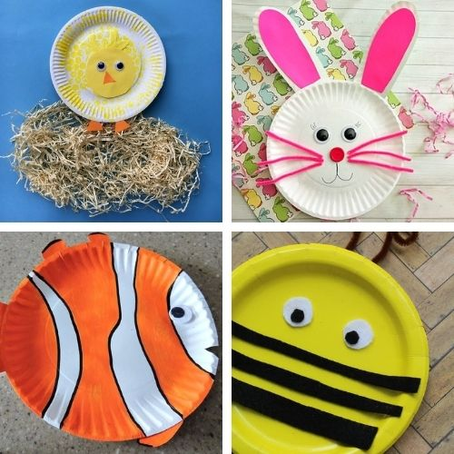 20 Cute Paper Plate Spring Crafts for Kids- Keep your kids busy on rainy days with these frugal and fun spring paper plate kids crafts! There are so many cute spring crafts for them to do! | #kidsCrafts #kidsActivities #paperPlateCraft #kidsActivity #ACultivatedNest