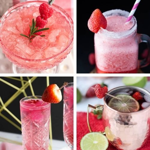 24 Delicious DIY Valentine's Drink Recipes- These tasty homemade Valentine's Day drinks are a lovely way to make your romantic evening even more special! | #drinkRecipes #ValentinesDay #Valentines #homemadeDrinks #ACultivatedNest