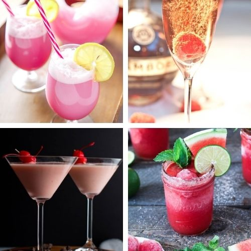 24 Delicious Homemade Valentine's Day Drink Recipes- These tasty homemade Valentine's Day drinks are a lovely way to make your romantic evening even more special! | #drinkRecipes #ValentinesDay #Valentines #homemadeDrinks #ACultivatedNest