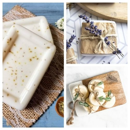 20 Heavenly Handmade Soap Recipes- If you want an all-natural homemade soap for your own use, or if you'd like to selling DIY soap, then you have to check out these handmade soap recipes! | #homemadeSoap #handmadeSoap #diySoap #soap #ACultivatedNest