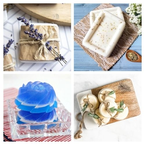 20 Heavenly DIY Soap Recipes- If you want an all-natural homemade soap for your own use, or if you'd like to selling DIY soap, then you have to check out these handmade soap recipes! | #homemadeSoap #handmadeSoap #diySoap #soap #ACultivatedNest