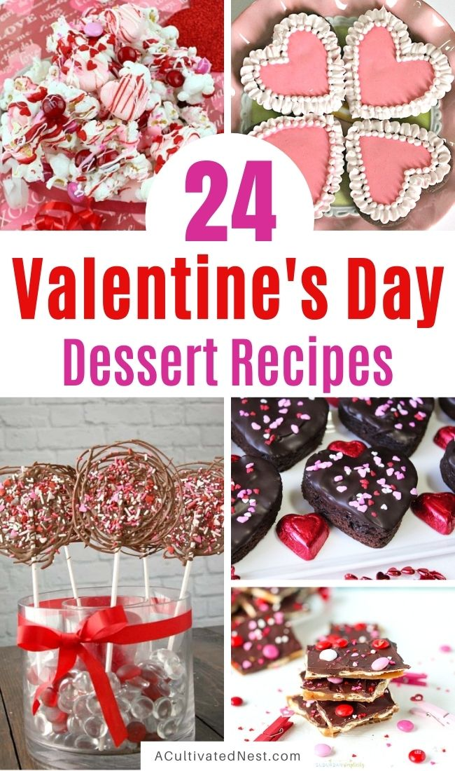 24 Valentine's Day Dessert Recipes
