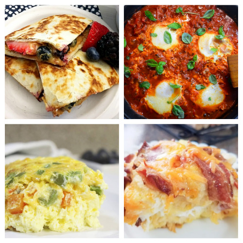 20 Easy Breakfast Recipes- Make these comforting homemade breakfast recipes for holidays, events, or on Sunday mornings. They are easy, delicious, and hearty! | pancake recipes, waffle recipes, egg recipes, #breakfast #recipe #brunchRecipes #food #ACultivatedNest