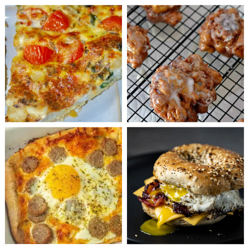 20 Delicious Comforting Breakfasts to Make- Make these comforting homemade breakfast recipes for holidays, events, or on Sunday mornings. They are easy, delicious, and hearty! | pancake recipes, waffle recipes, egg recipes, #breakfast #recipe #brunchRecipes #food #ACultivatedNest