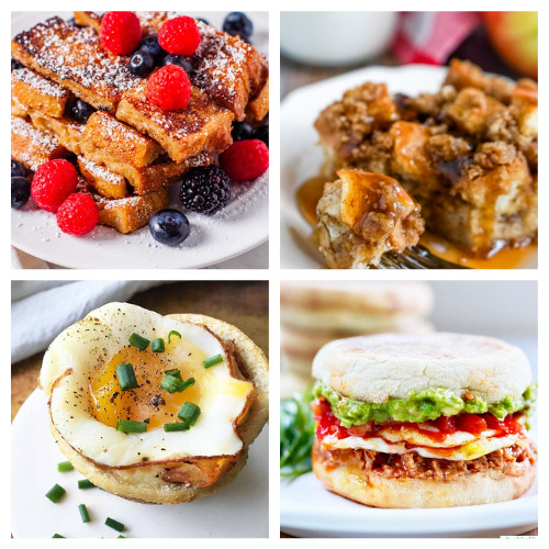 20 Delicious Sunday Morning Breakfast Recipes- Make these comforting homemade breakfast recipes for holidays, events, or on Sunday mornings. They are easy, delicious, and hearty! | pancake recipes, waffle recipes, egg recipes, #breakfast #recipe #brunchRecipes #food #ACultivatedNest