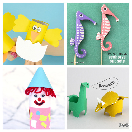 20 Fun Toilet Paper Roll Characters for Kids to Make- Gather the children and spend the afternoon working on these 20 fun toilet paper roll kids crafts! Everyone is sure to have a great time! | frugal kids activities, #kidsCrafts #craftsForKids #kidsActivities #toiletPaperRollCrafts #ACultivatedNest