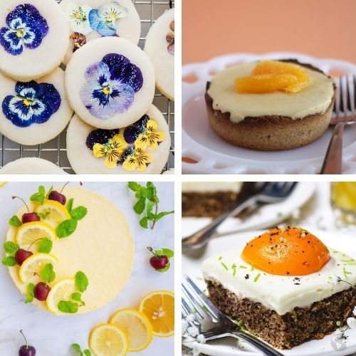 24 Bright Desserts to Make This Spring- Bring the brightness of spring to your dinner table with these cheery spring dessert recipes! They're all so pretty, and delicious! | spring baking, brightly colored desserts, #dessertRecipes #desserts #springRecipes #springDesserts #ACultivatedNest