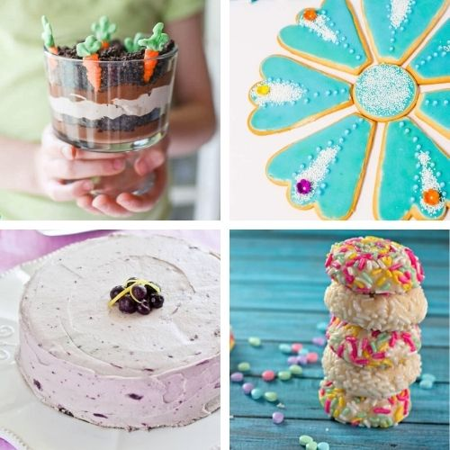 24 Cheery Spring Treats to Bake- Bring the brightness of spring to your dinner table with these cheery spring dessert recipes! They're all so pretty, and delicious! | spring baking, brightly colored desserts, #dessertRecipes #desserts #springRecipes #springDesserts #ACultivatedNest