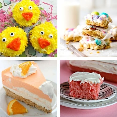 24 Cheery Desserts for Spring- Bring the brightness of spring to your dinner table with these cheery spring dessert recipes! They're all so pretty, and delicious! | spring baking, brightly colored desserts, #dessertRecipes #desserts #springRecipes #springDesserts #ACultivatedNest