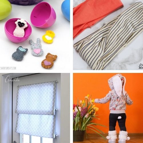 16 Fun Sewing Projects for Spring- This spring, use your sewing skills to make something fun! These spring sewing projects are perfect for beginners and more experienced sewers! | #sewingProjects #sewing #springSewing #springCrafts #ACultivatedNest