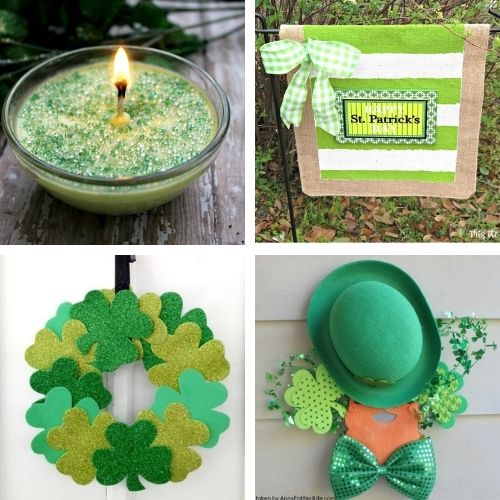 24 Fun St. Patrick's Day DIYs for Adults and Kids- Decorate your home for St. Paddy's Day on a budget this year with these 24 St. Patrick's Day crafts for adults and kids! | #StPatricksDay #SaintPatricksDay #crafts #diyProjects #ACultivatedNest