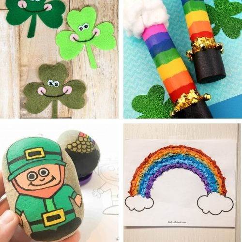 24 Saint Patrick's Day Crafts for Kids and Adults- Decorate your home for St. Paddy's Day on a budget this year with these 24 St. Patrick's Day crafts for adults and kids! | #StPatricksDay #SaintPatricksDay #crafts #diyProjects #ACultivatedNest