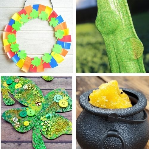 24 Saint Patrick's Day DIY Projects- Decorate your home for St. Paddy's Day on a budget this year with these 24 St. Patrick's Day crafts for adults and kids! | #StPatricksDay #SaintPatricksDay #crafts #diyProjects #ACultivatedNest