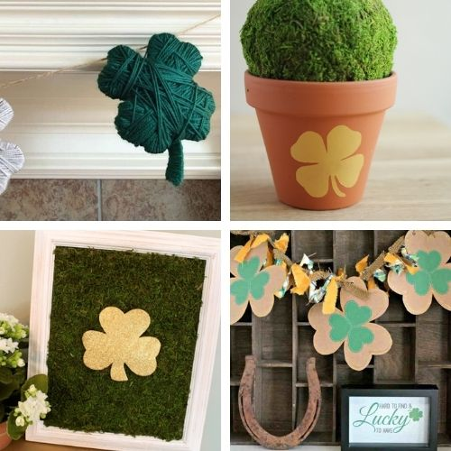 24 Fun DIY St. Patrick's Day Projects for Adults and Kids- Decorate your home for St. Paddy's Day on a budget this year with these 24 St. Patrick's Day crafts for adults and kids! | #StPatricksDay #SaintPatricksDay #crafts #diyProjects #ACultivatedNest