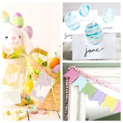 16 Cute Free Easter Printables