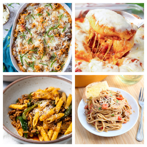 20 Delicious Pasta Recipes- Your taste buds will be thanking you when you bite into these 20 delicious pasta dinner recipes! They are easy and tasty! | #recipe #pasta #dinnerRecipes #easyDinnerIdeas #ACultivatedNest