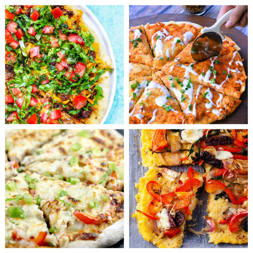 20 Incredible Pizza Recipes- Add some pizzazz to your meals by making these 20 incredible homemade pizza recipes! You will be craving pizza after checking them out! | how to make pizza from scratch, #recipe #food #pizza #homemadePizza #ACultivatedNest