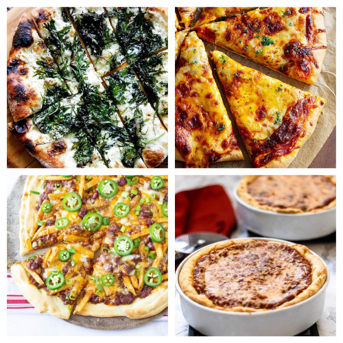 20 Incredible Pizzas Dinner Ideas- Add some pizzazz to your meals by making these 20 incredible homemade pizza recipes! You will be craving pizza after checking them out! | how to make pizza from scratch, #recipe #food #pizza #homemadePizza #ACultivatedNest