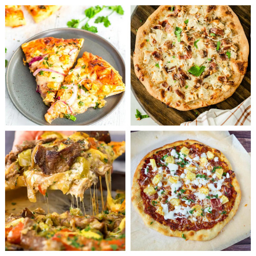 20 Incredible Pizzas from Scratch- Add some pizzazz to your meals by making these 20 incredible homemade pizza recipes! You will be craving pizza after checking them out! | how to make pizza from scratch, #recipe #food #pizza #homemadePizza #ACultivatedNest
