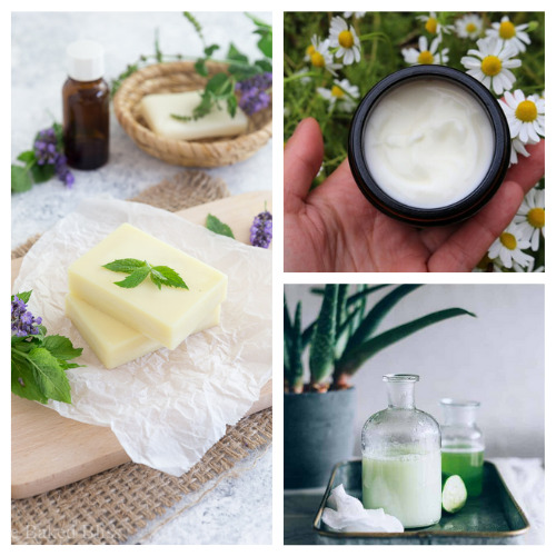 20 Luxurious DIY Lotions and Lotion Bars- Learn how to make these 20 luxurious DIY lotions and lotion Bars! They make lovely gifts and help make your skin silky smooth! | #homemadeBeautyProducts #diyLotion #diyLotionBars #crafts #ACultivatedNest
