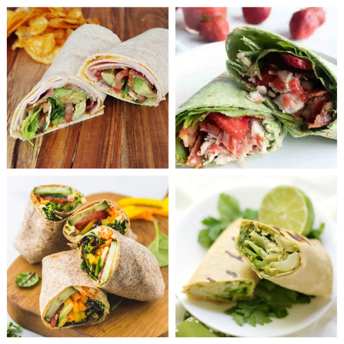 20 Mouth-Watering Lunch Wrap Ideas- These are the best lunch wrap recipes you'll ever taste! They are easy, quick, filling, and there are so many different ones to try! | quick lunch recipe ideas, #lunchRecipes #food #recipes #easyLunch #ACultivatedNest