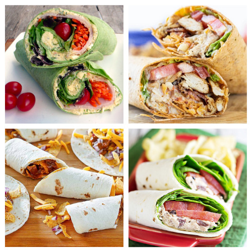 20 Mouth-Watering Sandwich Roll-ups- These are the best lunch wrap recipes you'll ever taste! They are easy, quick, filling, and there are so many different ones to try! | quick lunch recipe ideas, #lunchRecipes #food #recipes #easyLunch #ACultivatedNest
