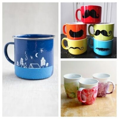 16 Beautiful DIY Mug Gifts
