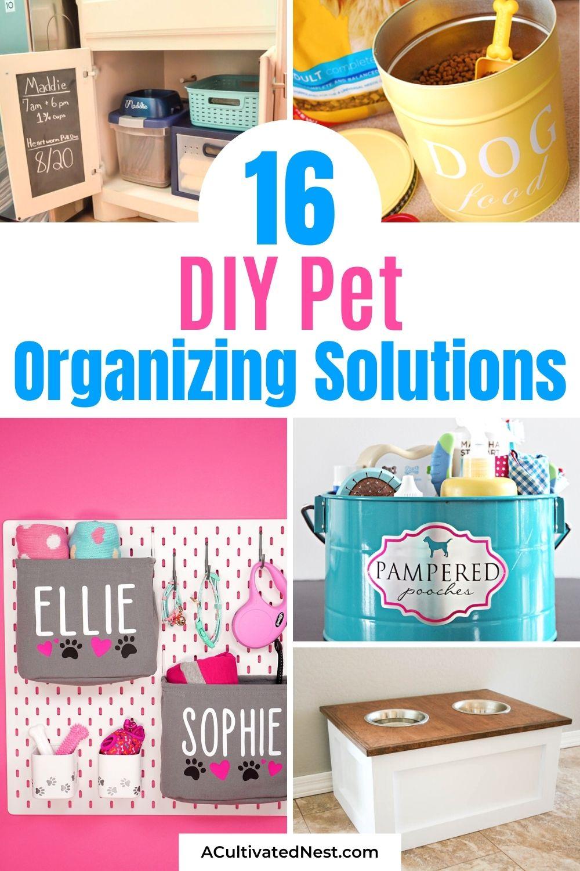 16 Brilliant DIY Pet Organizing Solutions